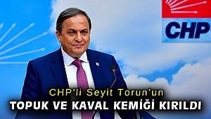 CHP'li Seyit Torun'un topuk ve kaval kemiği kırıldı