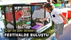 Çiğli'de pati dostları festivalde buluştu