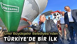 İzmir Büyükşehir Belediyesi'nden Türkiye'de bir ilk