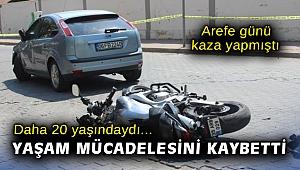 İzmir'de arefe günü kaza yapan genç verdiği yaşam mücadelesini kaybetti