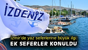 İzmir'de yaz seferlerine büyük ilgi: Ek seferler konuldu