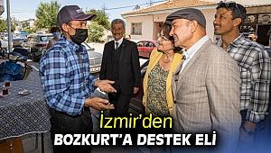 İzmir'den Bozkurt'a destek eli