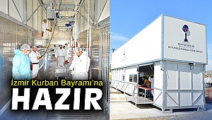 İzmir Kurban Bayramı'na hazır