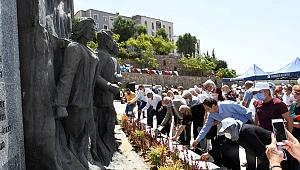 Karabağlar Belediyesi Madımak'ta katledilenleri unutmadı