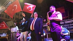 Kınık'ta 15 Temmuz Demokrasi Ve Milli Birlik Günü coşkuyla kutlandı