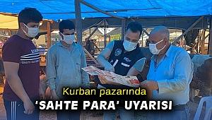 Kurban pazarında 'sahte para' uyarısı