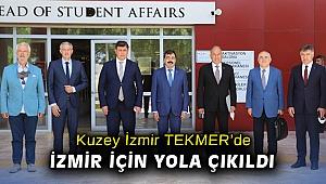 Kuzey İzmir TEKMER'de İzmir için yola çıkıldı