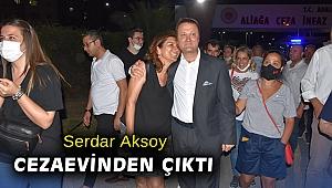 Serdar Aksoy cezaevinden çıktı