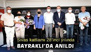 Sivas katliamı 28'inci yılında Bayraklı'da anıldı
