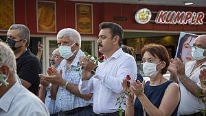 Sivas Katliamı'nda Yaşamını Yitirenler Dikili'de Anıldı