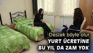 Türkan Saylan Kız Öğrenci Konukevi'nde bu yıl da zam yok