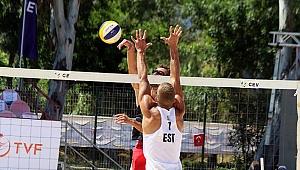 U20 Plaj Voleybolu Avrupa Şampiyonası'nda sona doğru