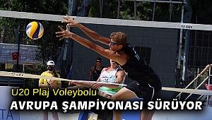 U20 Plaj Voleybolu Avrupa Şampiyonası sürüyor