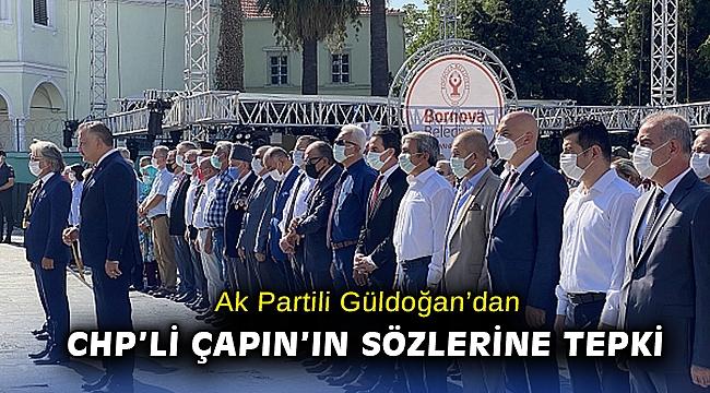 AK Partili Güldoğan'dan CHP'li Çapın'a tepki