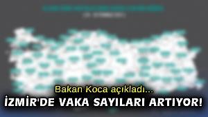 Bakan Koca açıkladı... İzmir'de vaka sayıları artıyor!