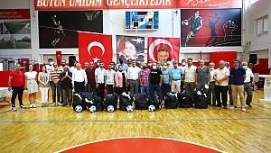 Başkan Sandal'dan amatör spor kulüplerine destek