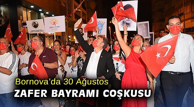 Bornova'da 30 Ağustos Zafer Bayramı coşkusu