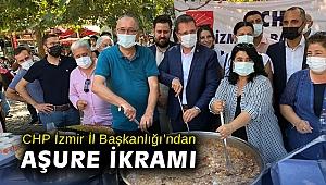 CHP İzmir İl Başkanlığı'ndan aşure ikramı