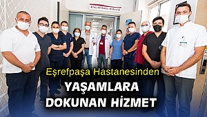 Eşrefpaşa Hastanesi Palyatif Bakım Merkezi hizmete girdi