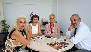 İzmir Barosu Başkanı Av. Yücel'den İzmir Gazeteciler Cemiyeti'ne ziyaret