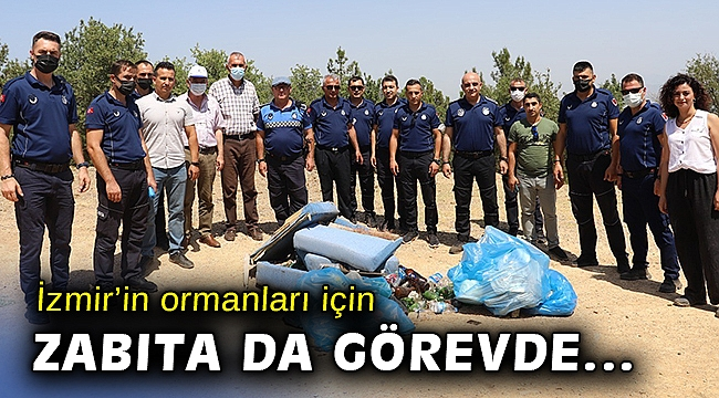 İzmir'in ormanları için koruma kalkanı