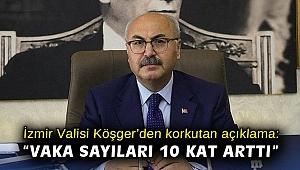 İzmir Valisi Köşger'den korkutan açıklama: