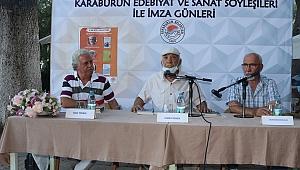 Karaburun'da edebiyat ve sanat söyleşileri yeniden başladı