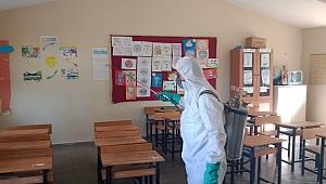 Kemalpaşa'da okullar yüz yüze eğitime hazırlanıyor