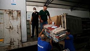 Konak'tan yangın bölgesine desteğe devam