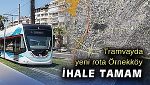 Örnekköy-Yeni Girne tramvay hattının ihalesi yapıldı