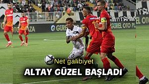 Süper Lig: Altay: 3 - Kayserispor: 0 (Maç sonucu)