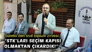 """Sürekli'den sivil toplum zirvesi: """"STK'ları seçim kapısı olmaktan çıkardık!"""""""