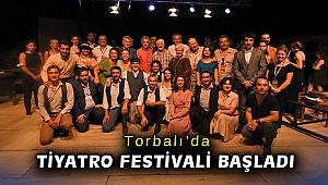 Torbalı'da Tiyatro Festivali başladı