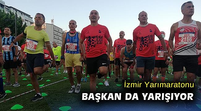 9 Eylül İzmir Yarı Maratonu rekor katılımla başladı