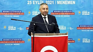 AK Parti Menemen'de hedefini belirledi