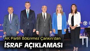 AK Partili Bölünmez Çankırı'dan israf açıklaması