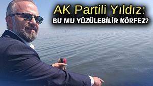AK Partili Yıldız: Bu mu yüzülebilir körfez?