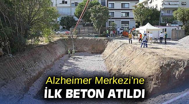 Alzheimer Merkezi'ne ilk beton atıldı