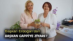 Başkan Erdoğan'dan Başkan Gappi'ye ziyaret