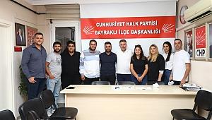 Başkan Sandal CHP Bayraklı Gençlik Kolları'yla buluştu