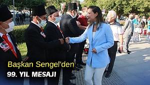 Başkan Sengel'den 99. yıl mesajı