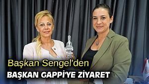 Başkan Sengel'den Başkan Gappi'ye ziyaret