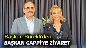 Başkan Sürekli'den Başkan Gappi'ye ziyaret
