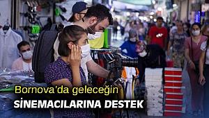 Bornova'da geleceğin sinemacılarına destek
