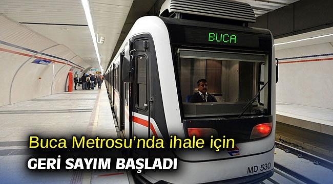 Buca Metrosu'nda ihale için geri sayım başladı