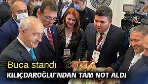 Buca standı Kılıçdaroğlu'ndan tam not aldı