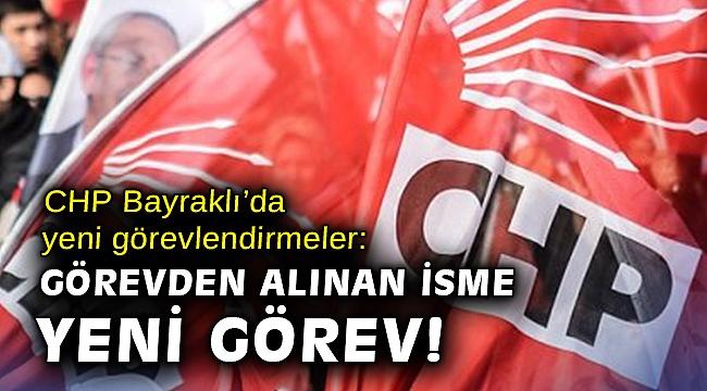 CHP Bayraklı'da yeni görevlendirmeler: Görevden alınan isme yeni görev!