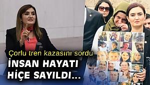 CHP'li Kılıç'tan Çorlu tren kazası soru önergesi