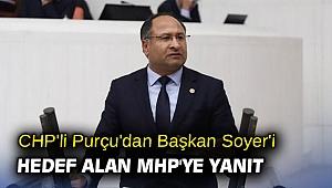 CHP'li Purçu'dan Başkan Soyer'i hedef alan MHP'ye yanıt