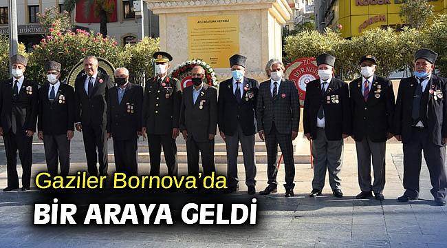 Gaziler Bornova'da bir araya geldi